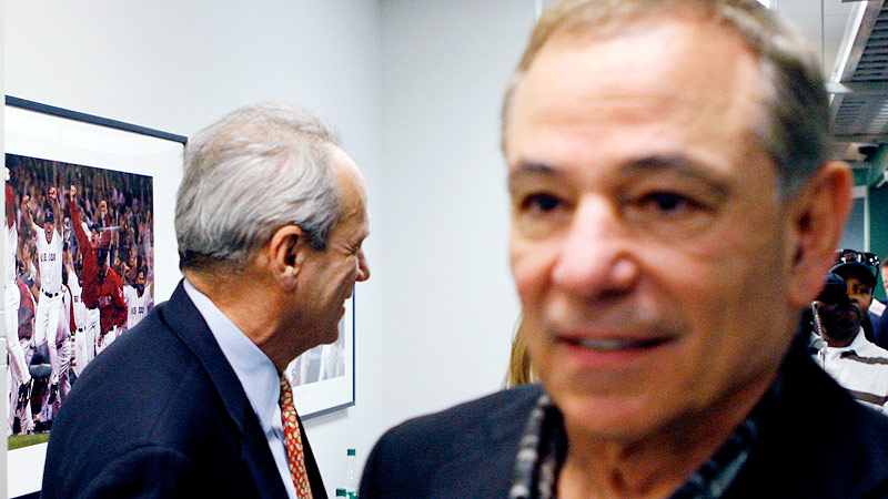 Bobby Valentine and Larry Lucchino