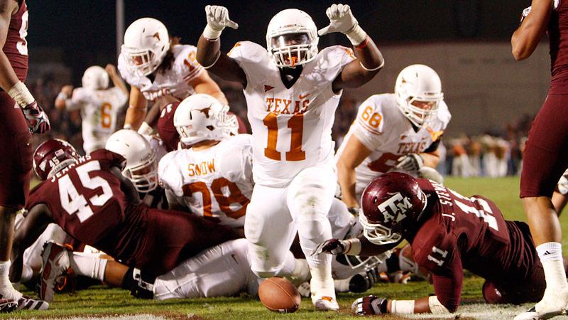 Cody Johnson - Texas vs. Texas A&M photo gallery - ESPN