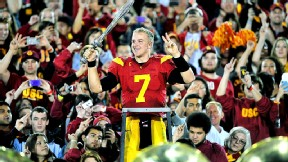 Matt Barkley throws 6 TD passes vs UCLA