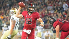 Luck, Stanford prove too much for Notre Dame