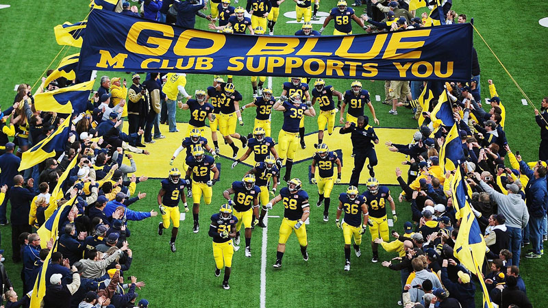 Michigan Wolverines players