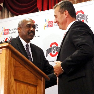 Gene Smith and Urban Meyer