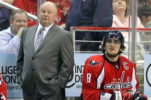 Bruce Boudreau and Alex Ovechkin