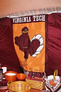 Virginia Tech tailgating