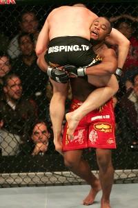Rashad Evans and Michael Bisping