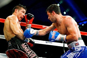 Darren Barker and Sergio Martinez