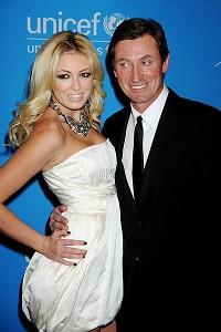 Paulina and Wayne Gretzky