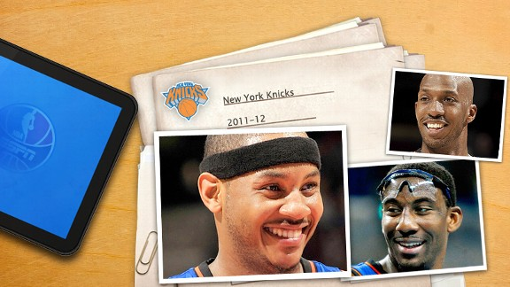 New York Knicks Illustration
