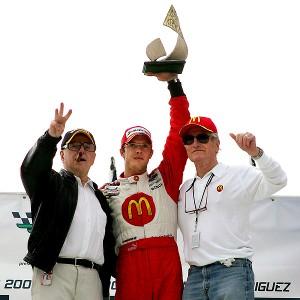Sebastien Bourdais, Carl Haas, Paul Newman