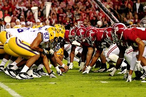 LSU and Alabama
