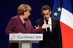 Merkel and Sarkozy