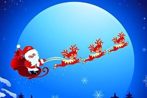 Santa vs Reindeer