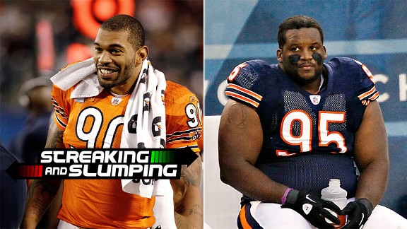 Julius Peppers & Anthony Adams