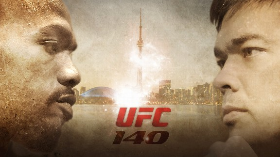 Jon Jones versus Lyoto Machida