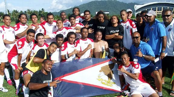 American Samoa players