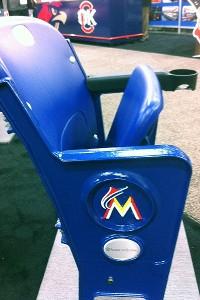 Marlins stadium seat