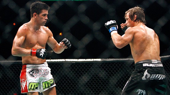 Dominick Cruz and Urijah Faber