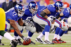 New York Giants offensive line