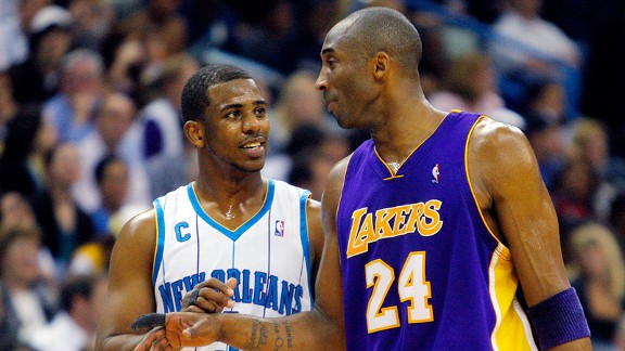Chris Paul and Kobe Bryant