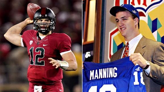 Andrew Luck & Peyton Manning