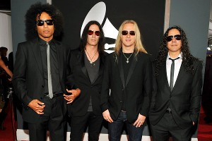 William Duvall, Sean Kinney, Jerry Cantrell and Mike Inez