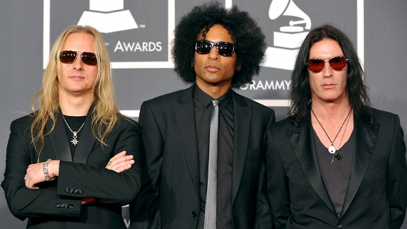 Jerry Cantrell, William Duvall, and Sean Kinney