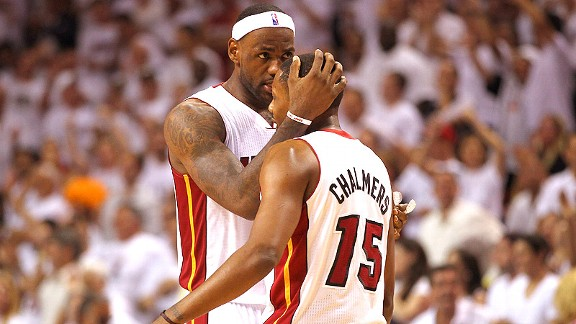 Mario Chalmers/LeBron James