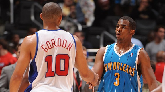 Eric Gordon and Chris Paul