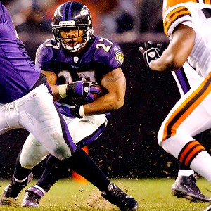 Baltimore's Ray Rice
