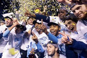 North Carolina players celebrate