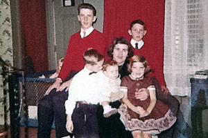 Cluess family photo