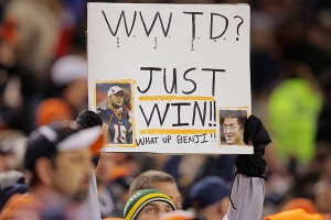 Tim Tebow's 7-1 record as a starter has made believers of Broncos fans.