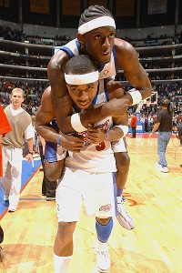 Darius Miles and Quentin Richardson