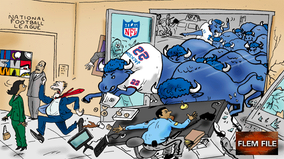 Buffalo Bills cartoon