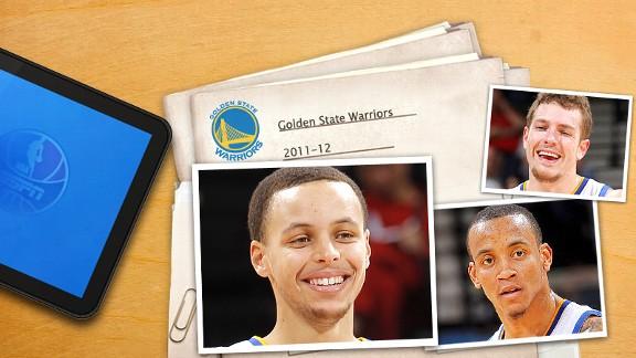 NBA Warriors Illustration