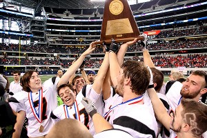 Aledo with trophy
