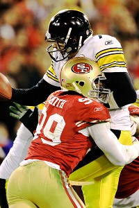 San Francisco 49ers linebacker Aldon Smith