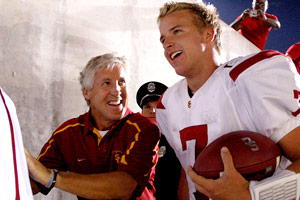 Pete Carroll, Matt Barkley