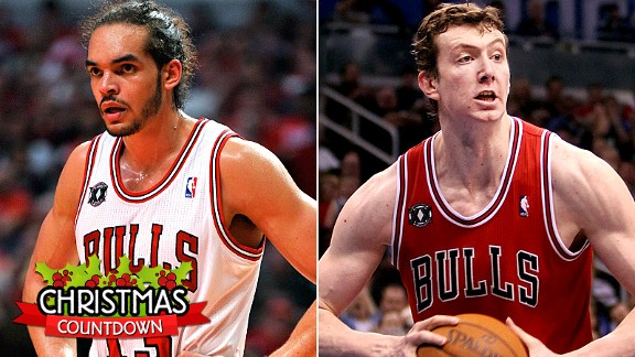 Joakim Noah and Omer Asik