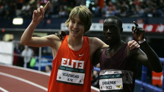 Lukas Verzbicas and Edward Cheserek