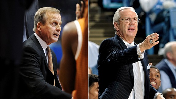 Rick Barnes & Roy Williams