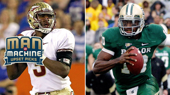 Will Florida State and Baylor be able to hold off the underdogs in their bowl contests?