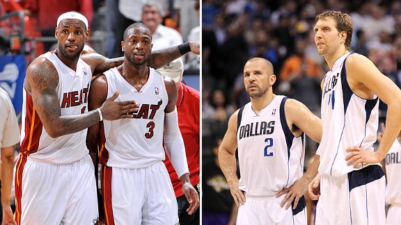 Miami Heat and Dallas Mavericks