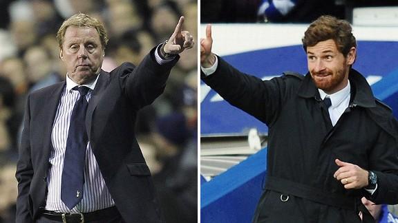 Harry Redknapp and Andre Villas Boas