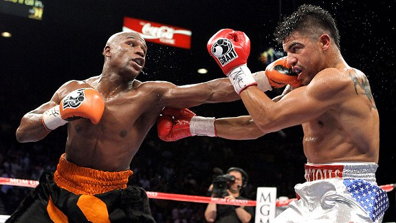 Floyd Mayweather Jr. fought just once in 2011, and although the outcome was semi-controversial, it was absolute: In September, Mayweather delivered a merciless knockout of Victor Ortiz to repossess a welterweight strap.