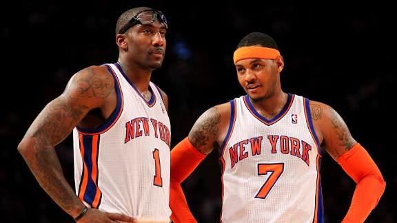 Amare Stoudemire, Carmelo Anthony