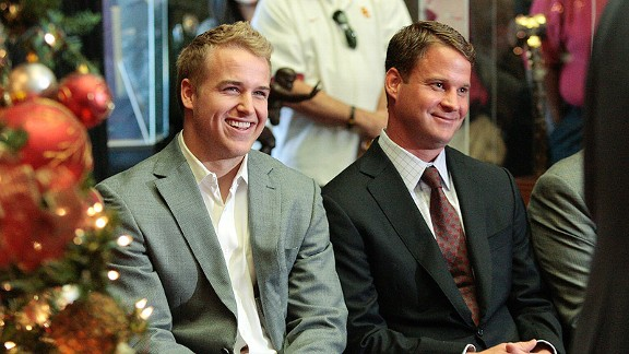 Matt Barkley and Lane Kiffin