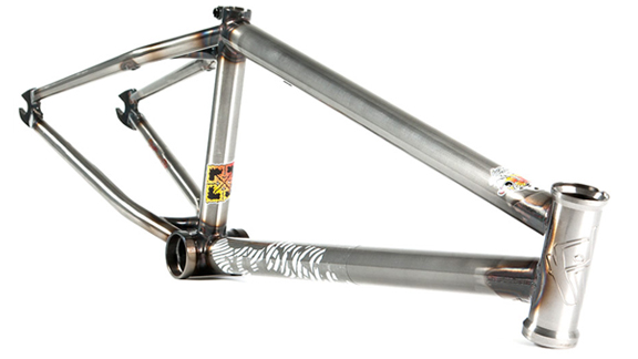 The Mac Frame Is Also Available In A Gloss Clear Finish. Fit Bike Co.