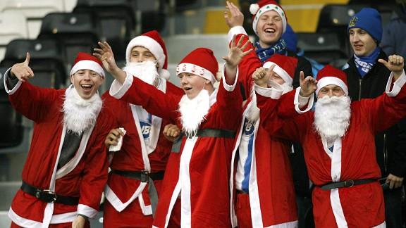Premier League Santas