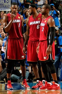 LeBron James, Dwyane Wade, Chris Bosh